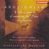 ARUTIUNIAN: Violin Concerto / Concertino for Piano / Sinfonietta by Various Artists