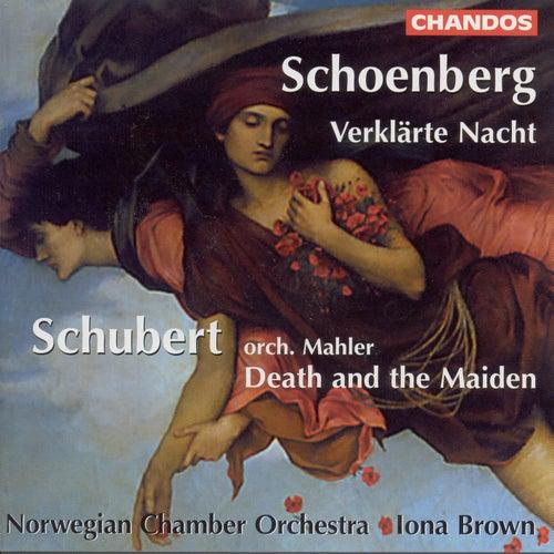 SCHOENBERG: Verklarte Nacht / SCHUBERT: String Quartet No. 14, 'Death and the Maiden' by Iona Brown