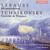 TCHAIKOVSKY: Souvenir de Florence (arr. for string orchestra)  / STRAUSS, R.: Metamorphosen by Iona Brown