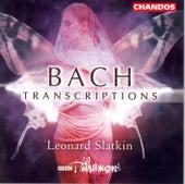 Bach Transcriptions de Leonard Slatkin
