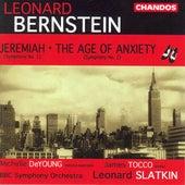 BERNSTEIN: Symphonies Nos. 1 and 2 / Divertimento von Various Artists