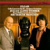 Elgar: Cello Concerto; Enigma Variations de Yehudi Menuhin
