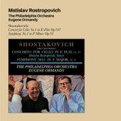 Shostakovich: Concert for Cello No.1 in E-Flat Op.107 + Symphony No.1 in F Minor Op.10 (Bonus Track Version) by Mstislav Rostropovich