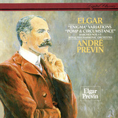 Elgar: Enigma Variations; Pomp & Circumstance Marches Nos. 1-5 by André Previn