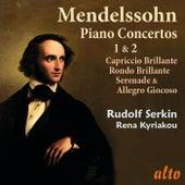 Mendelssohn Piano Concertos 1 & 2 von Rudolf Serkin