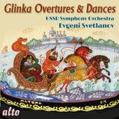 Glinka Overtures & Dances de Evgeny Svetlanov
