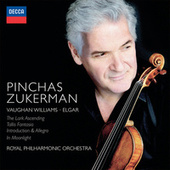 Vaughan Williams & Elgar: The Lark Ascending; Tallis Fantasia; Introduction & Allegro; In Moonlight de Pinchas Zukerman