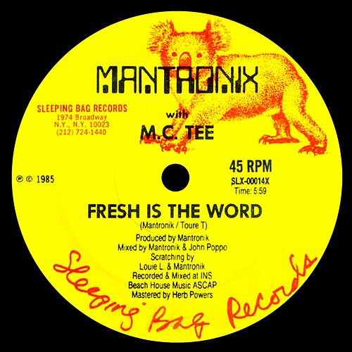 Fresh Is The Word by Mantronix