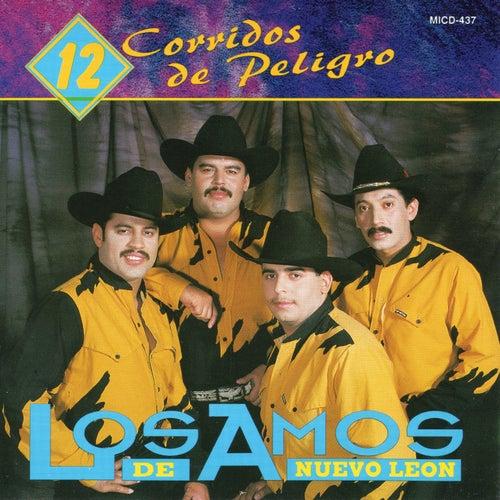 12 Corridos de Peligro by Los Amos De Nuevo Leon
