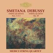 Smetana & Debussy: String Quartets by Medici String Quartet