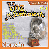 Voz y Sentimiento Norteno, Vol. 4 by Various Artists