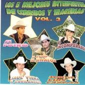 Los 5 Mejores Interpretes De Corridos y Tragedias, Vol. 3 by Various Artists