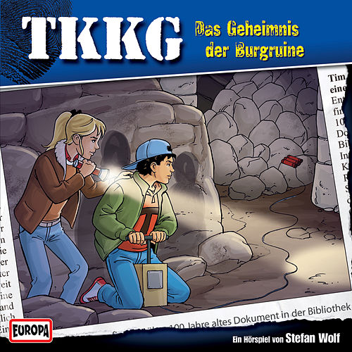 154/Das Geheimnis der Burgruine von TKKG