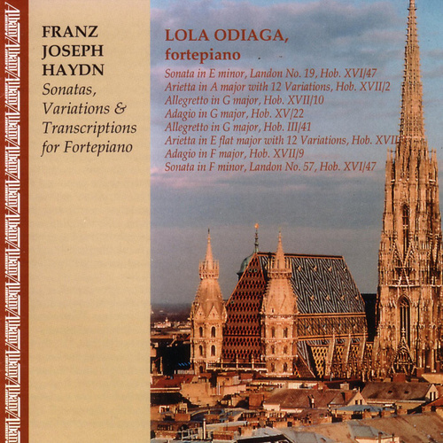 Sonatas, Variations & Transcriptions by Lola Odiaga