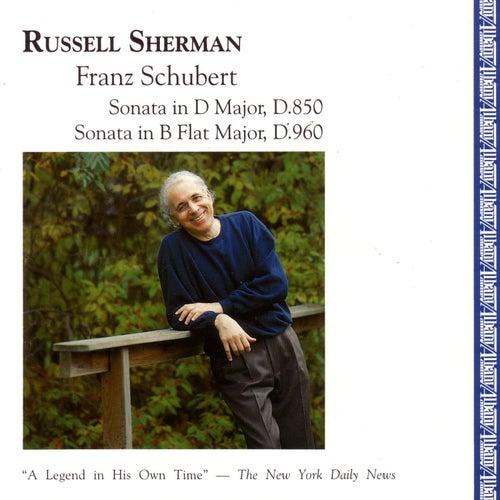 Russell Sherman • Franz Schubert by Russell Sherman