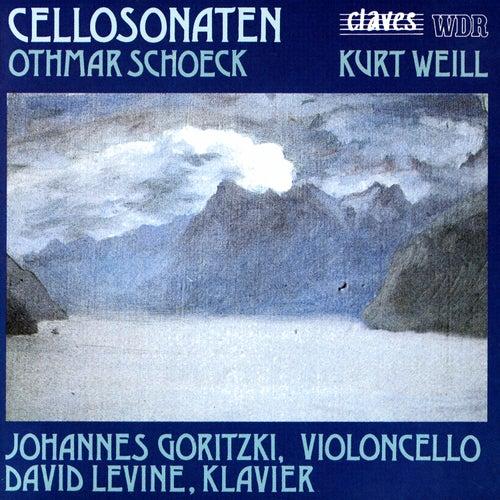 Schoeck / Weill: Cello Sonatas by David Levine