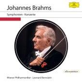 Johannes Brahms: Symphonien & Konzerte (Live) de Leonard Bernstein