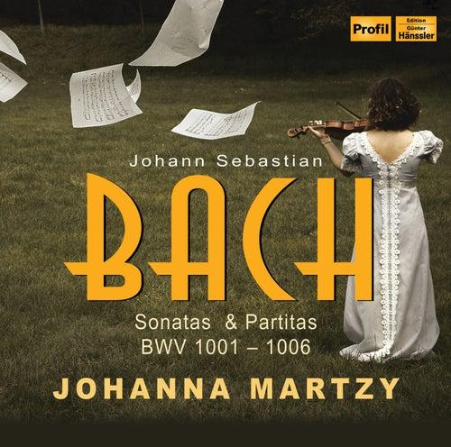 Bach: Violin Sonatas & Partitas, BWV 1001-1006 by Johanna Martzy