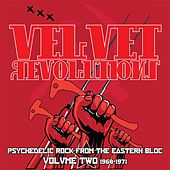 Velvet Revolutions: Psychedelic Rock From The Eastern Bloc, Vol. 2 1968-1971 von Various Artists