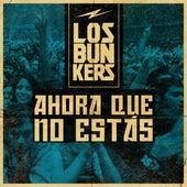 Ahora Que No Estás (En Vivo) de Los Bunkers