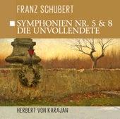Symphonien Nr. 5 &  Nr. 8 - die Unvollendete by Philharmonia Orchestra