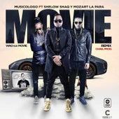 Wou Que Movie (Official Remix) - Single de Musicologo The Libro