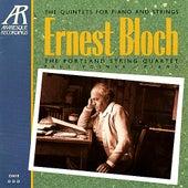 Bloch: Piano Quintet Nos. 1, 2 by The Portland String Quartet