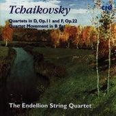 Tchaikovsky: Quartets In D, Op.11 And F, Op.22 / Quartet Movement In Be Flat by Endellion String Quartet