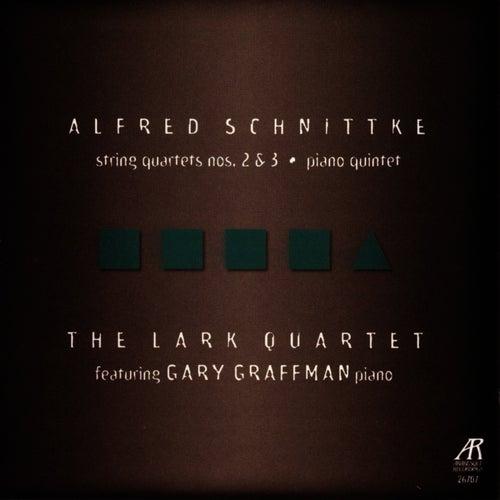 Schnittke: String Quartets Nos. 2 & 3, Piano Quintet by The Lark Quartet
