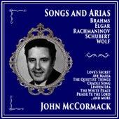 Songs and Arias by Brahms, Elgar, Rachmaninov, Schubert, Wolf, Vaughn Williams by John McCormack