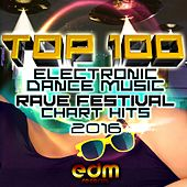 Top 100 Electronic Dance Music and Rave Festival Chart Hits 2016 de Various Artists