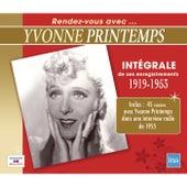 Intégrale de ses enregistrements (1919-1953) by Various Artists