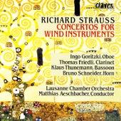 Richard Strauss/ Concertos For Wind Instruments by Bruno Schneider