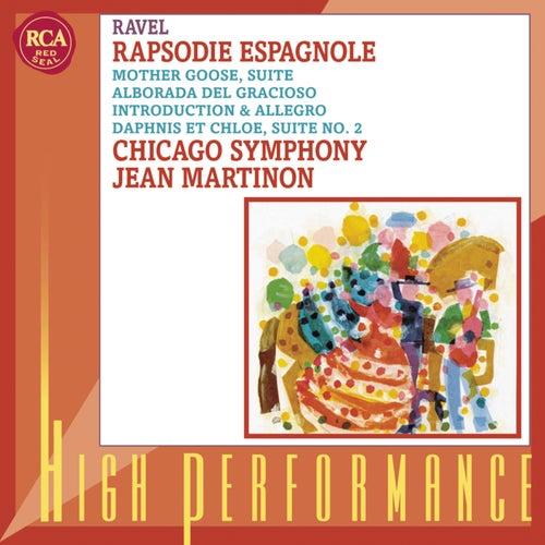 Rapsodie espagnole; Daphnis et Chloé: Suite No. 2; Others by Jean Martinon