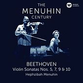 Beethoven: Violin Sonatas Nos 5, 7, 9 & 10 de Yehudi Menuhin