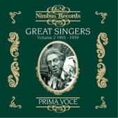 Great Singers Vol. 2 (Recorded 1903-1939) de Various Artists