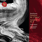 Beethoven: Symphonies Nos. 3 & 8: Classic Library Series by Günter Wand