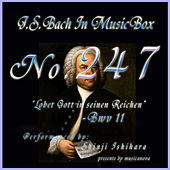 Lobet Gott in seinen Reichen, BWV 11 by Shinji Ishihara