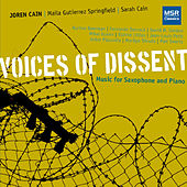 Voices of Dissent: Music for Saxophone and Piano von Various Artists