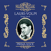 Lauri-Volpi Sings Verdi by Various Artists