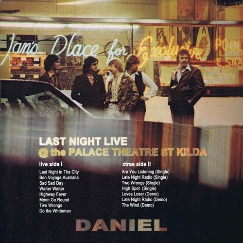 Last Night Live de Daniel
