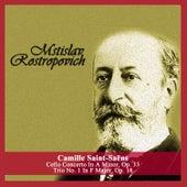 Camille Saint-Saëns: Cello Concerto In A Minor, Op. 33 - Trio No. 1 In F Major, Op. 18 de Various Artists