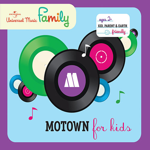 Motown For Kids by Various Artists
