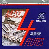 Music 4 Flutes by Irmela Nolte