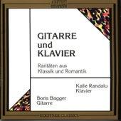 Saitenspruenge im Duett - Gitarre und Klavier de Kalle Randalu Boris Bagger