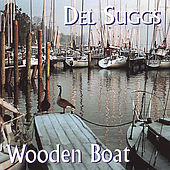 Wooden Boat by Del Suggs