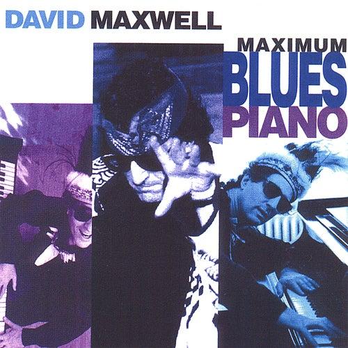 Maximum Blues Piano by David Maxwell