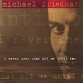 I Never Knew What Hit Me Until Now van Michael Friedman
