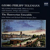 Telemann: Six Concertos For Two Flutes by The Hanoverian Ensemble