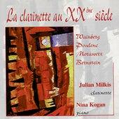 Weinberg, Poulenc, Morawtez, Bernstein: La Clarinette au Vingtième Siècle by Julian Milkis